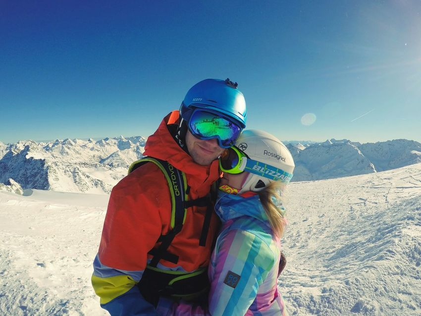 Love Is In The Air Soelden Alpes Mountains Sunshine Colors
