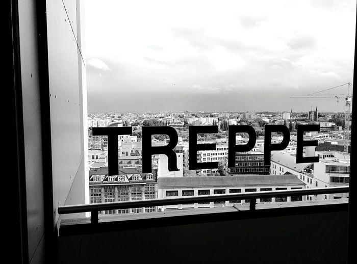 Day 321 - Treppe Berlin Blackandwhite Treppe City 365project 365florianmski Day321