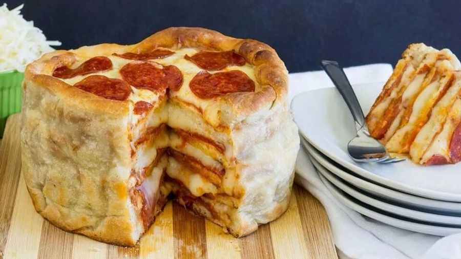 Oh Yeah! Food Pizza Ultimate Pizza