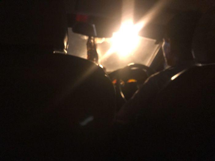 Light Driving Car Driver Uber Taxi Illuminated Night Burning No People Close-up Indoors  Flame