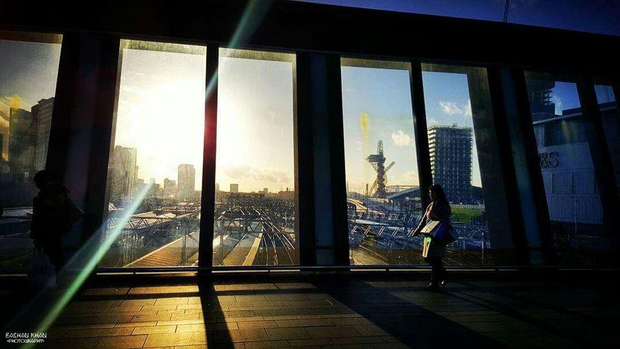 London Westfield Stratford Evening Sky Relaxing Enjoying Life Smartphonephotography Eyem Best Shots
