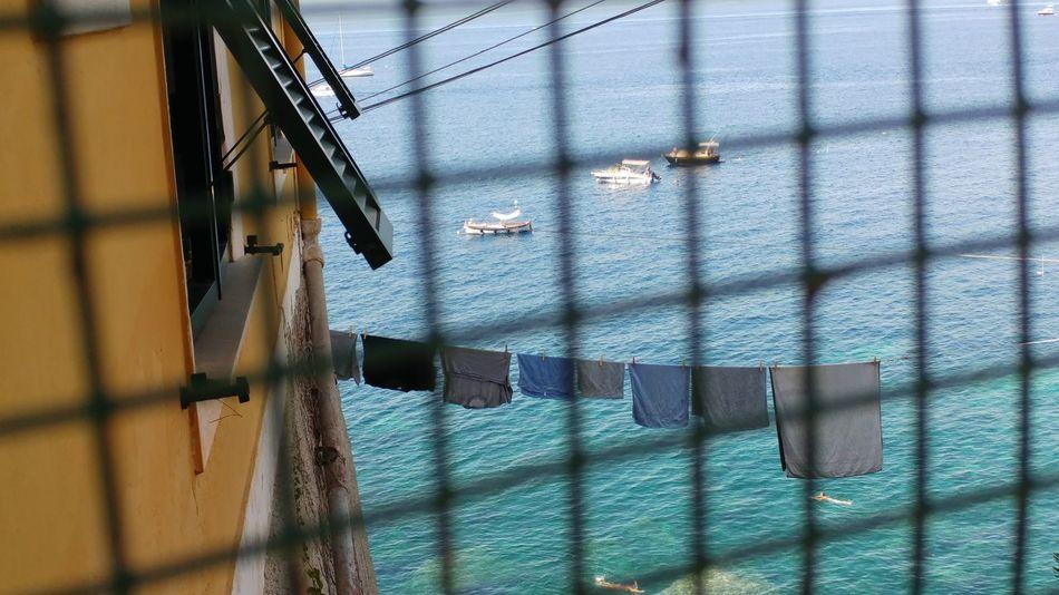 EyeEm Selects Summer Water Built Structure Sea Liguria,Italy Nautical Vessel Hanging No People Outdoors Architecture Parco Naturale Di Portofino Porto Pidocchio (Liguria) Punta Chiappa Landscape Mare Emiliano Perani Panorama Tranquility