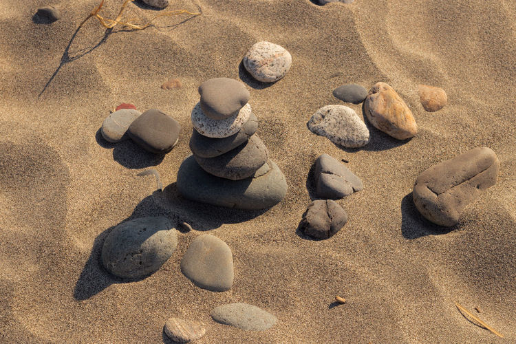 Stone Tower Stone Tower Pile Stone Pile Meditation Stones Nature No People Summer Sun Summer Sun Warm Nature Photography Beach Stone Tower Zen Tranquility Tranquil Scene Relaxing Peaceful Mindfulness