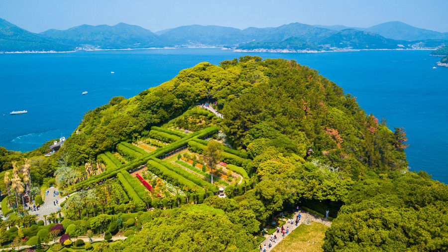 Aerial view of Oedo-Botania located in Geoje island, South Korea. EyeEm Best Shots EyeEmNewHere Geojedo Holiday Korea Oedo-Botania South Korea Travel Aerial View Botanical Botanical Garden Botany Busan Day Famous Place Geoje Island High Angle View Landmark Landscape Nature Oedo Oedo Botania Outdoors Travel Destinations Vacation