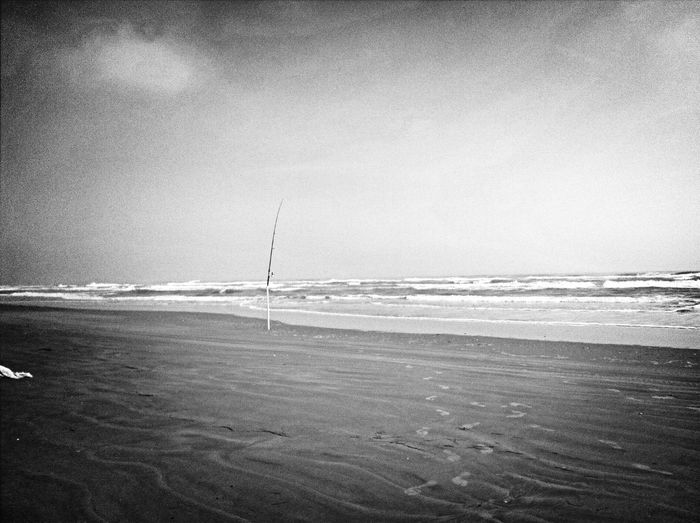 Pesca en playa tesoro