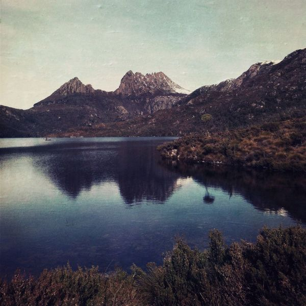 Cradle Mountain and Dove Lake Hipstamatic Landscape