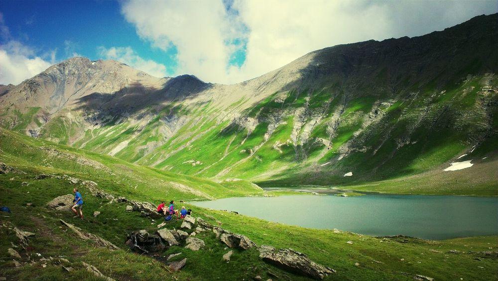 Was für ein cooler Bergsee