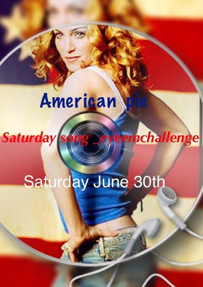 Do you believe in rock and roll💿 I have the honor of co -hosting this weeks challenge with my dear friend Mandy Smith. We have chosen the song American Pie by Don Maclean. YouTube link http://youtu.be/ih7N9_VUU4U everyone is invited to join. Simple rules, Own photo and no repost. When submitting your photos please tag with Saturdaysong_eyeemchallenge and American Pie full rules can be found on Saturdaysong_eyeemchallenge_rules We will be looking forward to seeing your photos🌹Mandy Smith@