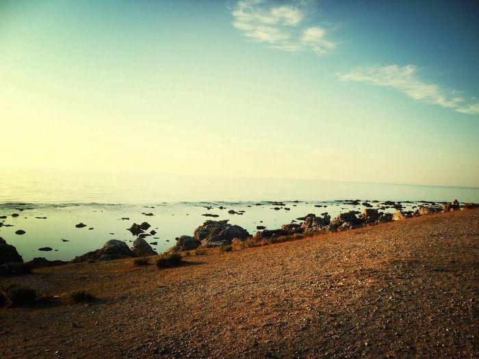 Sunset Summer Ocean Sweden