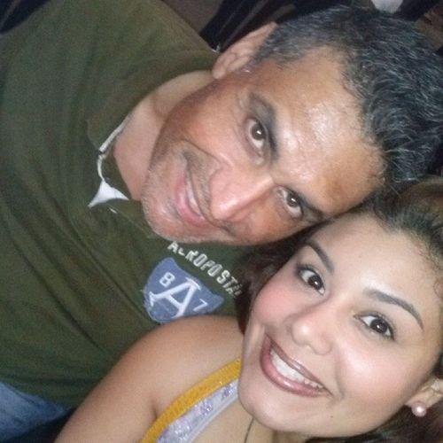 """Con mi hijita @luissanar disfrutando la obra """"El Libertador"""""""