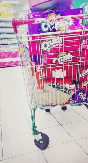 Crush Shopping Drink Coke