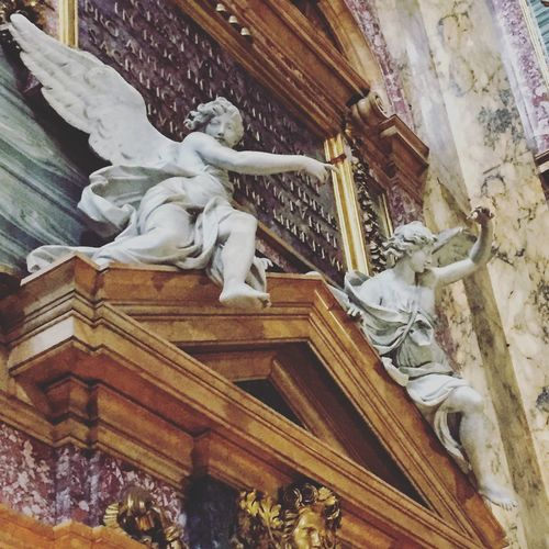 Rome Catholic Church Renaissance Walking Around The City  Taking Photos Being A Tourist Historical Sights Angel