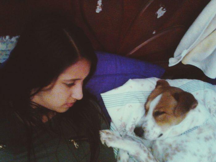 I love u baby!!! Dogslife Doglover Dog Slepping Sleppy Dog