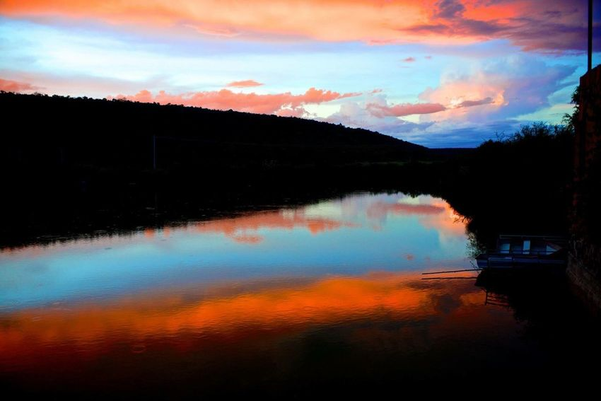 Sky Reflection Reflections In The Water Photography Photographer Water Nature Nikon
