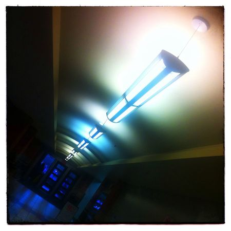 Hall of light. Photography IPhone Light YYC