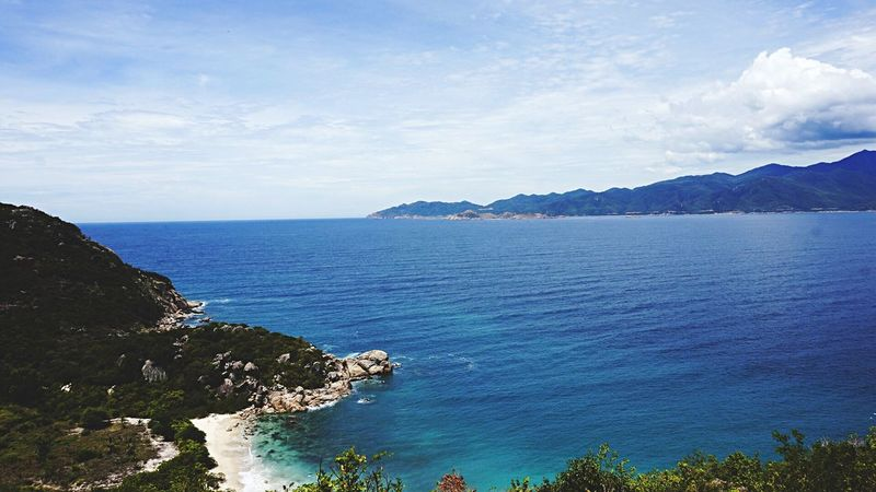 My homeland Island Vietnam Beauty In Nature Tranquil Scene Outdoors No People Ocean View Khanh Hoa Sonyphotography Landscape Blue Color TakenbyVin