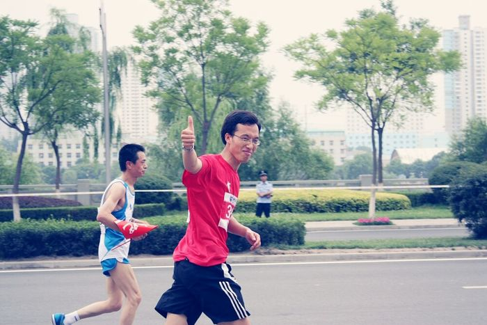 Marathon at Lanzhou.