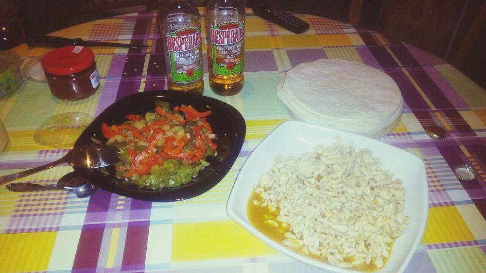 Fajitas Food Foodporn Mexico Desperados