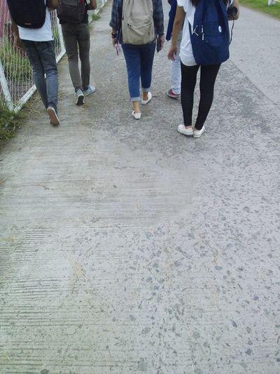 Barefoot Faces Of Summer Capturing Freedom Friendship Walking Around