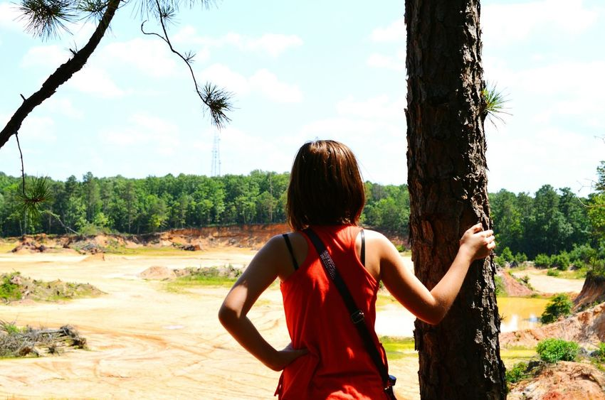 A Walk In The Woods EyeEm Nature Lover Girl Lookingout Enjoying The View Taking Photos Nature Trees Enjoying Life The Great Outdoors - 2015 EyeEm Awards