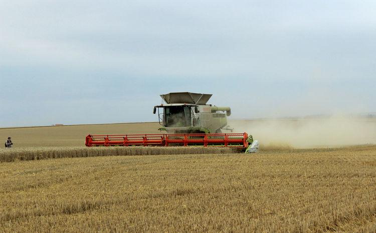 Agriculture Fields Fieldscape No Filter Nofilter Non-urban Scene Sky Tractor Tractor Love