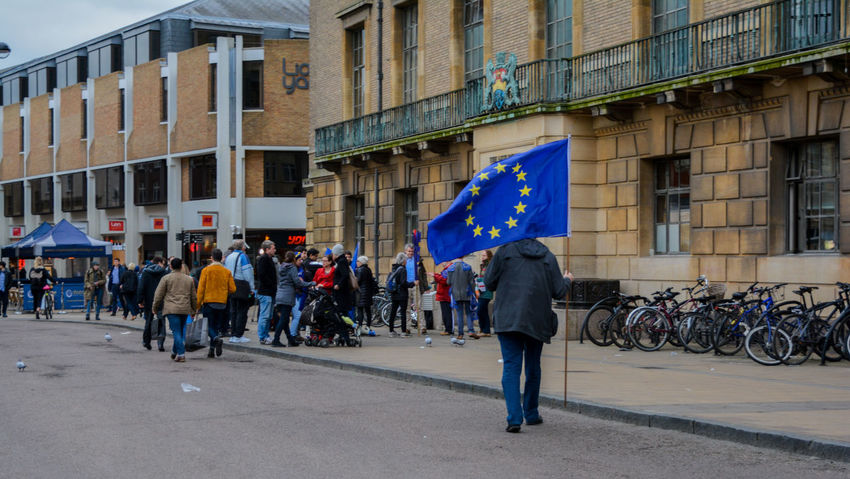 Art50 Article 50 Brexit Brexitday Britain Cambridge Eu Europe European Union Inmigration LeaveEu News Post Brexit No Turning Back Protest Protesters Remain Uk United Kingdom Eu Flag Flag