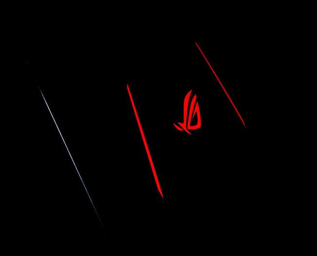 Red Illuminated No People Night Indoors  Close-up Black Background Glowing Dark Studio Shot Technology Neon Asus Rog Asus Rog