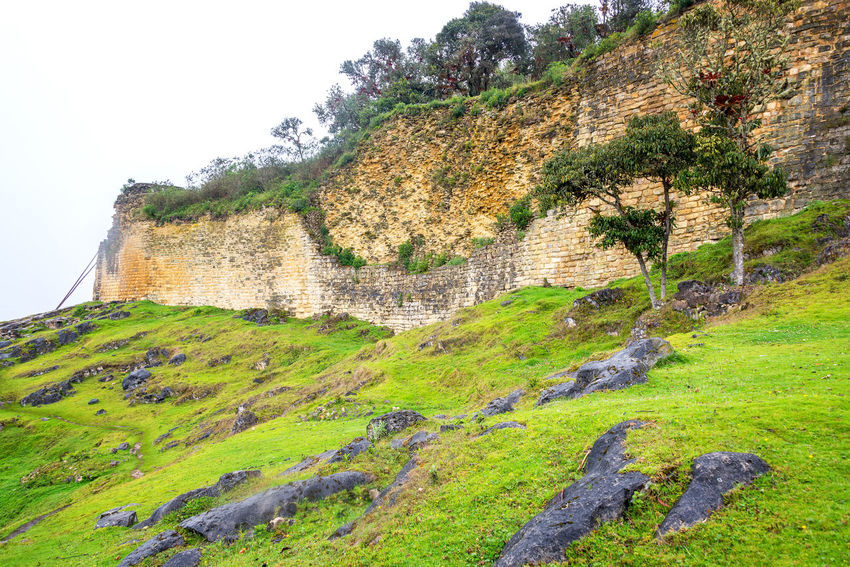 Ancient fortress of Kuelap in Peru Amazonas Ancient Archeology Architecture Building Chachapoyas Chachapoyya City Culture Fortress Green Kuelap Old Ruin Ruins South America Stone Tourism Travel Travel Destinations Utcubamba