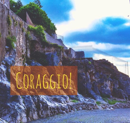 Coraggio Courage Courageous_art Brave Adversity Hope Fighting Struggle Rocks Hardlife Roman Italy Italia EyeEm Nature Lover EyeEm Gallery Eye4photography  EyeEm Best Edits Iphonephotography IPhoneography