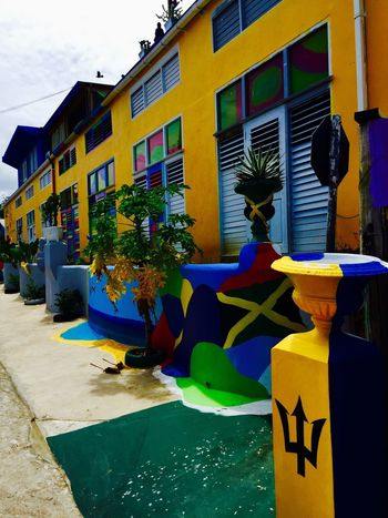 The Architect - 2017 EyeEm Awards Building Exterior Built Structure Architecture Day Outdoors No People Sky City EyeEm EyeEmBestPics EyeEm Best Shots Iponeonly Travel Photography Streetphotography The Street Photographer - 2017 EyeEm Awards AirBnB The Great Outdoors - 2017 EyeEm Awards Yellow Blue Hostel Colors Colorful Wood - Material Wood