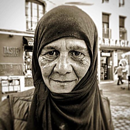 EyeEm LOST IN London EyeEm Selects Portrait Looking At Camera Human Face Human Body Part Real People Outdoors Men City Adult One Person Human Eye Cheerful People Women Smiling Close-up Day Only Men Adults Only