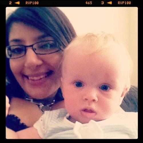 She's such a cutie!! Chunkymonkey Lovethiskid Growingupsoquick