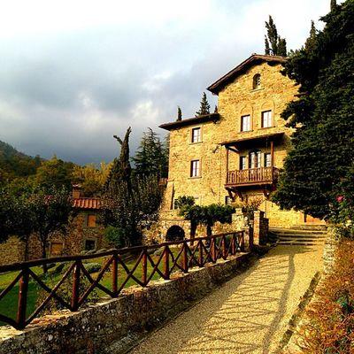 Amazing light today at Villa G Ponteallapiera Tuscany