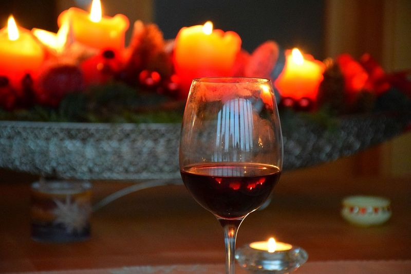 Flame Wineglass Wine Focus On Foreground Candle Alcohol Close-up Illuminated Heat - Temperature No People Burning Drinking Glass Food And Drink Red Wine Drink Indoors  Winetasting Day Wine Moments EyeEmNewHere