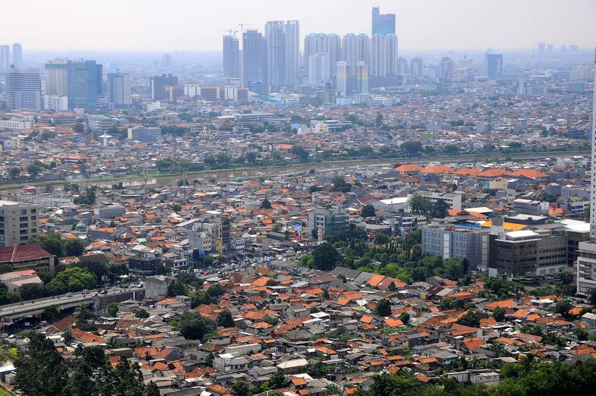 Building Contrast Growth Growth Process Jakarta Jakartabuilding Live For The Story Metropolitan Population