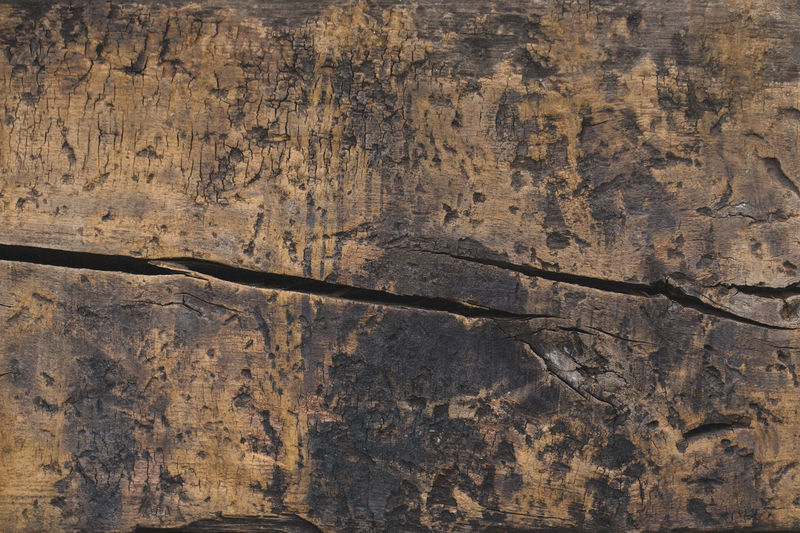 Full frame shot of old wooden plank