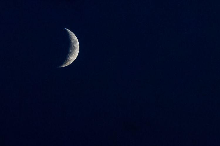 Copy Space Moon