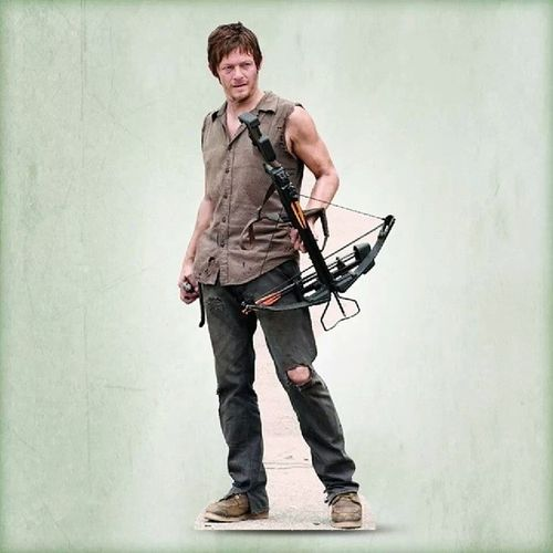 Daryldixon Teamdaryl Normanreedus TWD Thewalkingdead Walker Zombiebuster Hotness Crossbow ♥ Fangirl