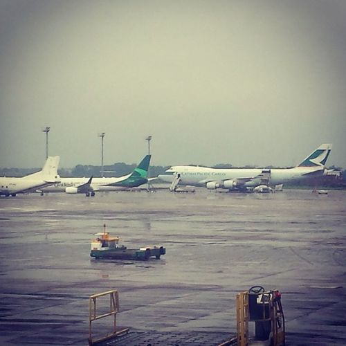 Cathaypacificcargo Argentina Hazratshahzalal Dia ziainternational dac airport tarmac