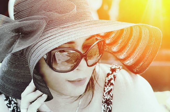 Travel Photography Sunlight Travelling Bali, Indonesia Sunnies Face