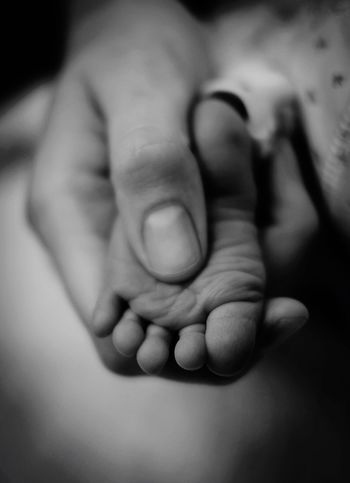 The little one ❤️❣️ Copy Space Human Body Part Hand Human Hand Body Part Togetherness Two People People Indoors  Adult Bonding Human Limb Emotion Child Finger Focus On Foreground Real People Close-up Love Baby Unity This Is Family