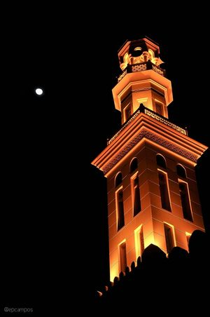 Mosque Moon Moonlight Fullmoon Nightout Eyeem Philippines Dubai