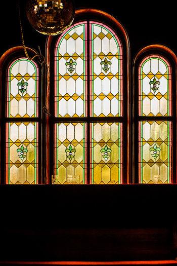 Multi colored window