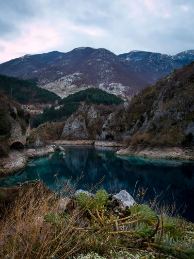 18-55mm F22 Beauty In Nature Blue Canon Day Grass Lake Landscape Long Exposure Mountain Mountain Range Mountains Nature No People Outdoors San Domenico Scenery Scenics Sky Tranquil Scene Tranquility Water EyeEmNewHere Colour Your Horizn