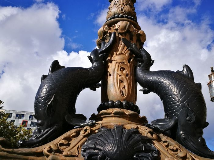 Sculpture Art And Craft Statue Art Architecture Built Structure Creativity Outdoors Spire