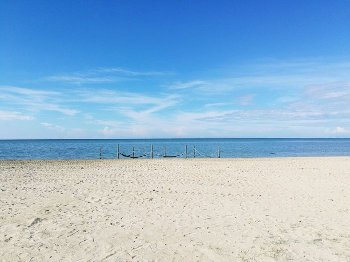 Vitamin Sea. 😍 Beach Sea Sand Horizon Over Water Vacations Sky Water Summer Outdoors Travel Destinations Tranquility Day Nature Blue Cloud - Sky No People Scenics Beauty In Nature