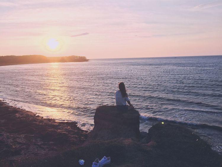 IPhone Photography Ocean Beach Sunset View Adventure Boyfriend