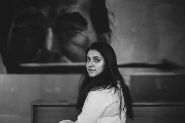 Syeda. Adult Beautiful Beautiful Woman Beauty Black And White Photography Candid Portraits Fashion Long Hair Looking At Camera One Person One Woman Only Portrait Portrait Of A Woman Women Young Adult Young Women Connected By Travel Black And White Friday Be. Ready. An Eye For Travel Inner Power Visual Creativity This Is My Skin The Portraitist - 2018 EyeEm Awards