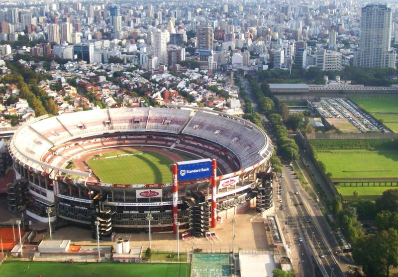 Club Atletico River Plate Football Stadium Aereal View