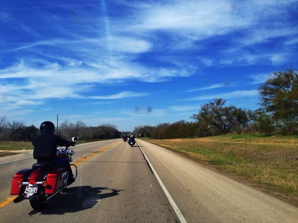 Motorcycles IPhone Photography Blue Sky
